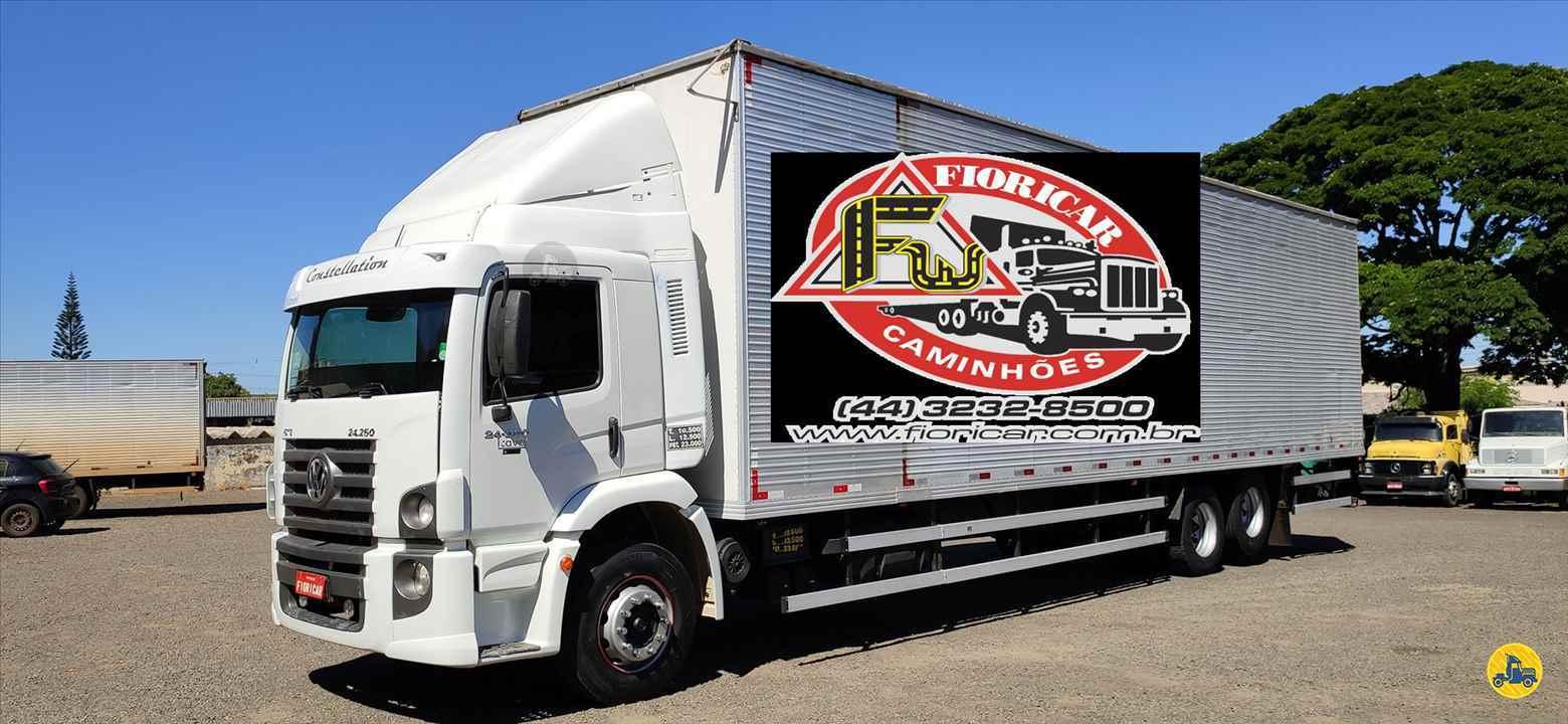 CAMINHAO VOLKSWAGEN VW 24250 Baú Furgão Truck 6x2 Fioricar Caminhões MARIALVA PARANÁ PR