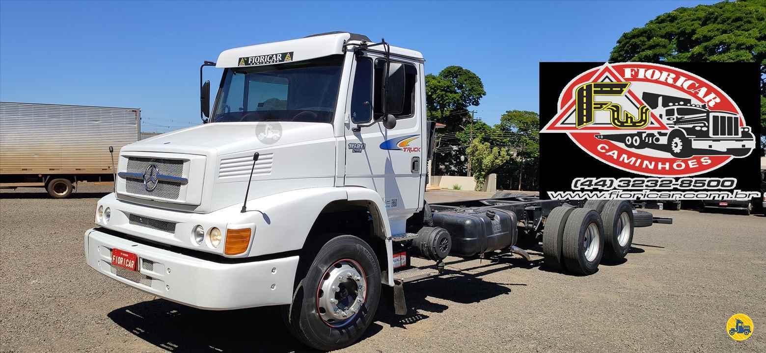 CAMINHAO MERCEDES-BENZ MB 1620 Chassis Truck 6x2 Fioricar Caminhões MARIALVA PARANÁ PR