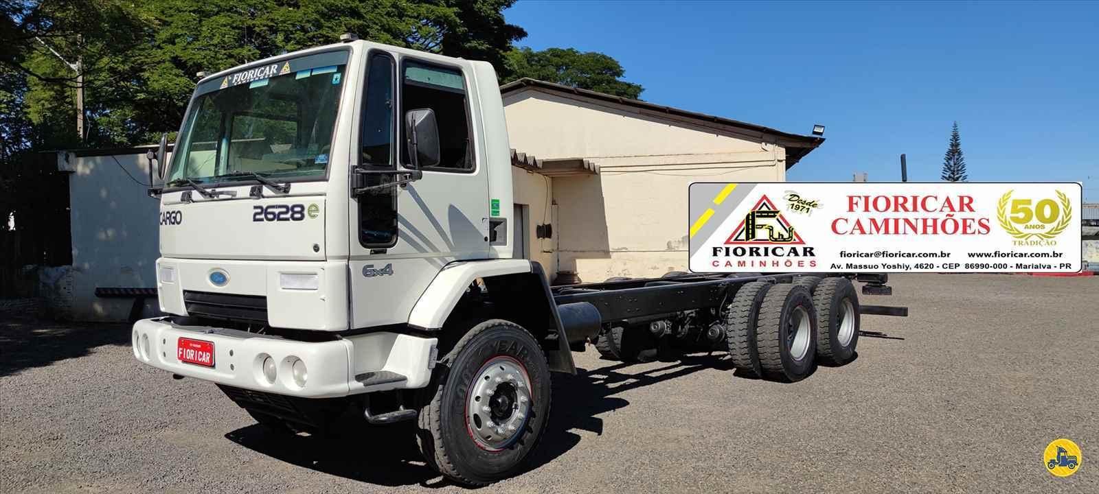 CAMINHAO FORD CARGO 2628 Chassis Traçado 6x4 Fioricar Caminhões MARIALVA PARANÁ PR