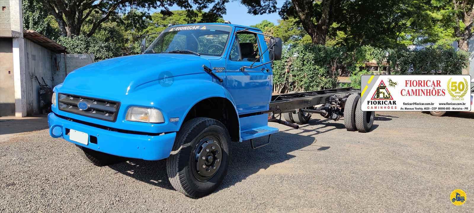 CAMINHAO FORD F12000 Chassis Toco 4x2 Fioricar Caminhões MARIALVA PARANÁ PR