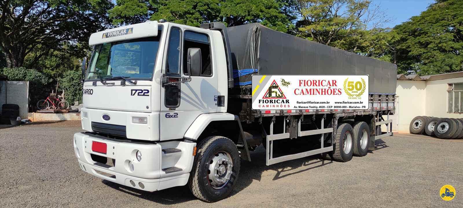 CAMINHAO FORD CARGO 1722 Graneleiro Truck 6x2 Fioricar Caminhões MARIALVA PARANÁ PR