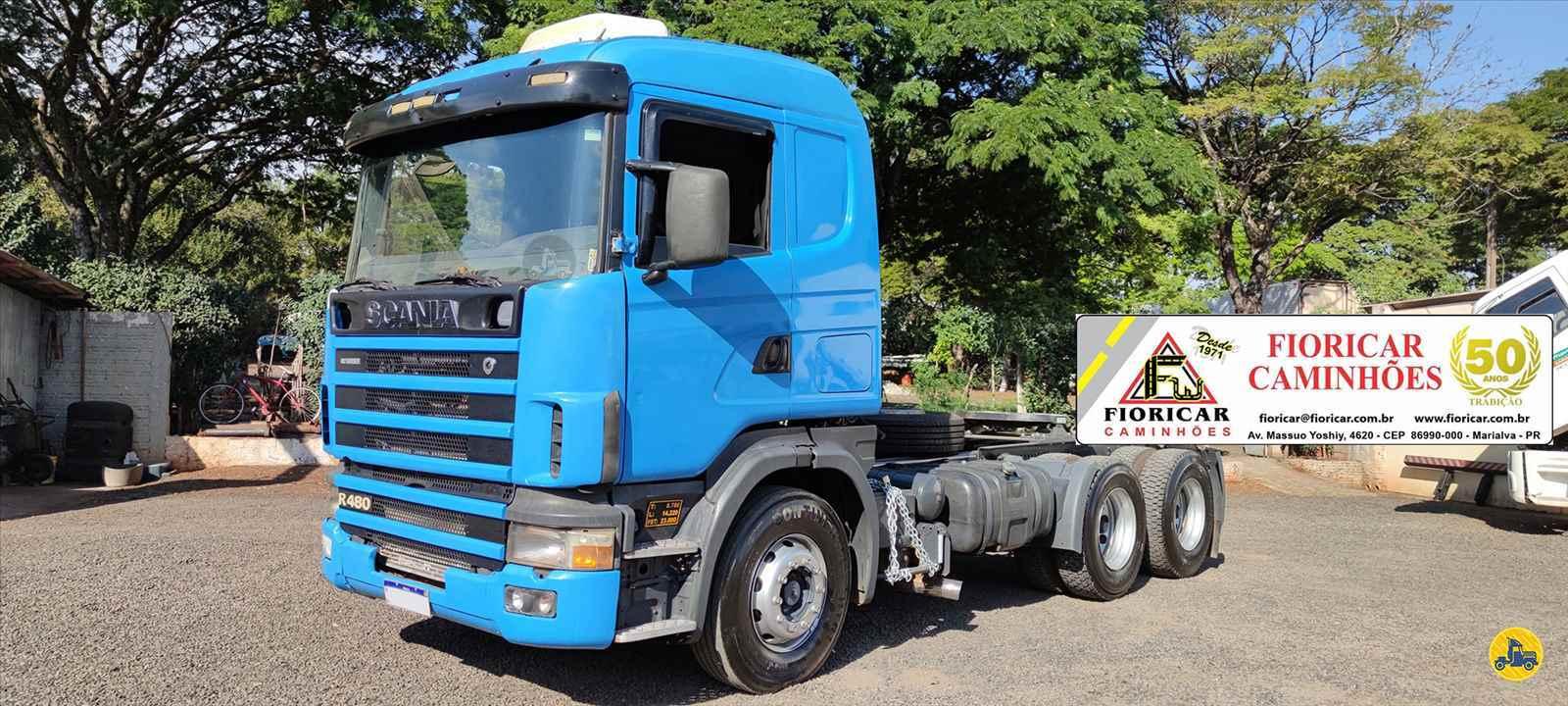 CAMINHAO SCANIA SCANIA 480 Cavalo Mecânico Traçado 6x4 Fioricar Caminhões MARIALVA PARANÁ PR