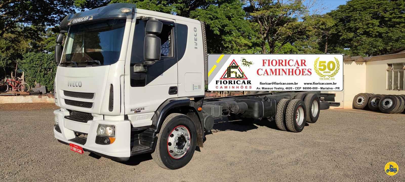 CAMINHAO IVECO TECTOR 240E25 Chassis Truck 6x2 Fioricar Caminhões MARIALVA PARANÁ PR