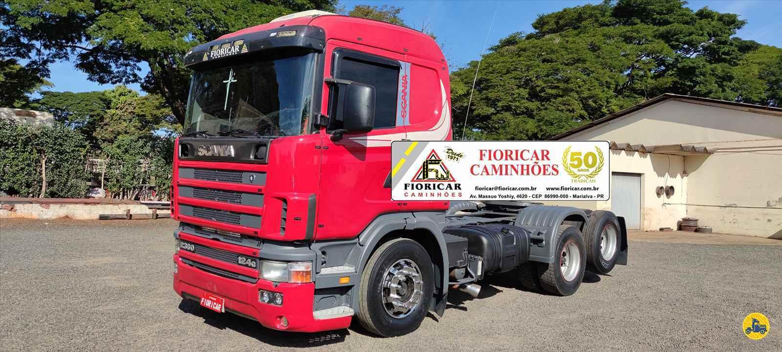 CAMINHAO SCANIA SCANIA 124 360 Cavalo Mecânico Truck 6x2 Fioricar Caminhões MARIALVA PARANÁ PR