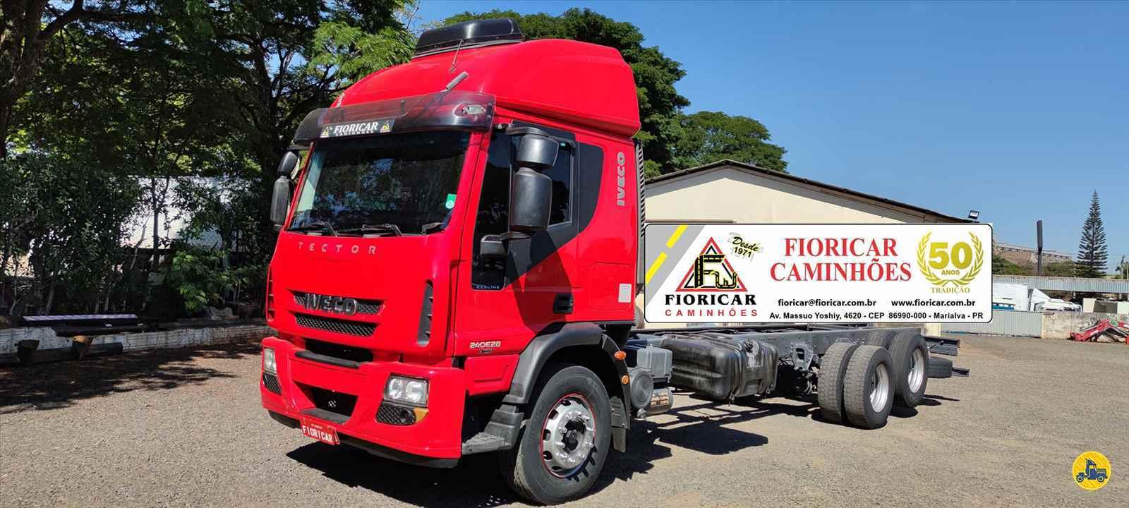 CAMINHAO IVECO TECTOR 240E28 Chassis Truck 6x2 Fioricar Caminhões MARIALVA PARANÁ PR