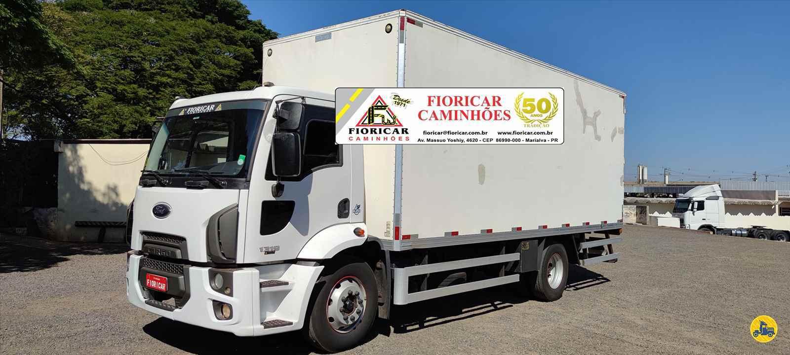 CAMINHAO FORD CARGO 1319 Baú Furgão Toco 4x2 Fioricar Caminhões MARIALVA PARANÁ PR