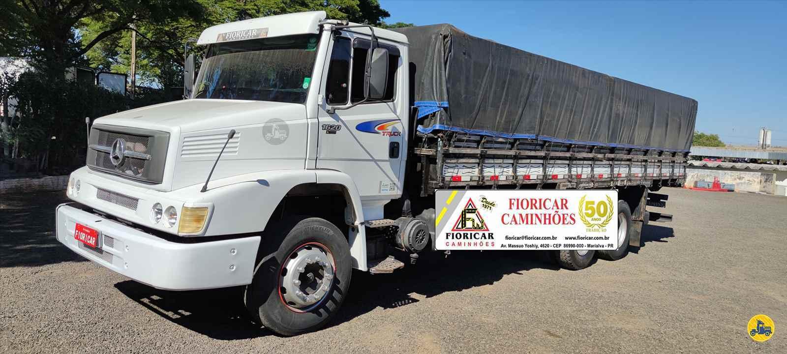 CAMINHAO MERCEDES-BENZ MB 1620 Graneleiro Truck 6x2 Fioricar Caminhões MARIALVA PARANÁ PR