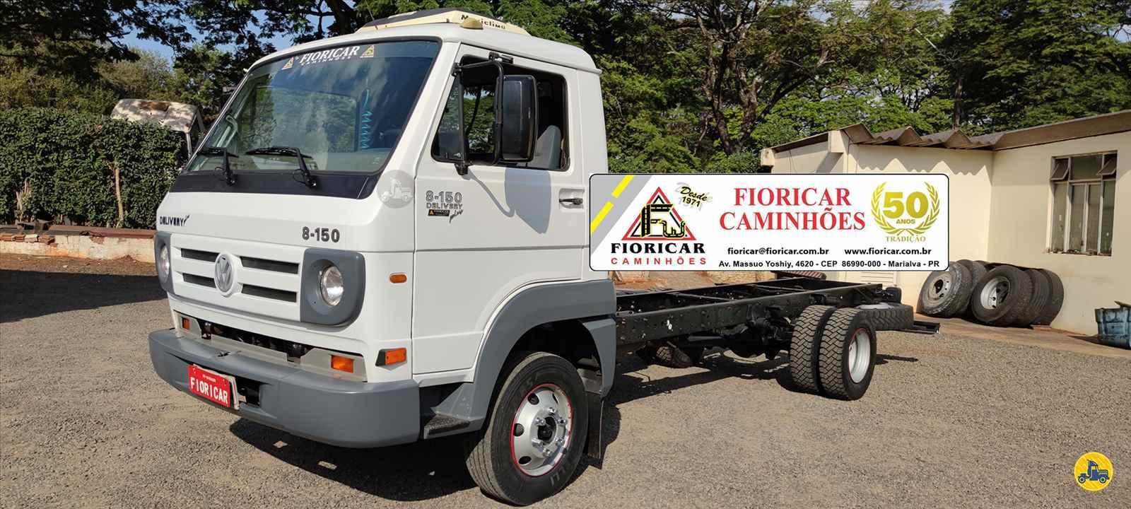 CAMINHAO VOLKSWAGEN VW 8150 Chassis 3/4 4x2 Fioricar Caminhões MARIALVA PARANÁ PR