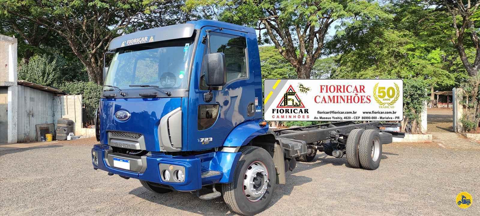CAMINHAO FORD CARGO 1723 Chassis Toco 4x2 Fioricar Caminhões MARIALVA PARANÁ PR