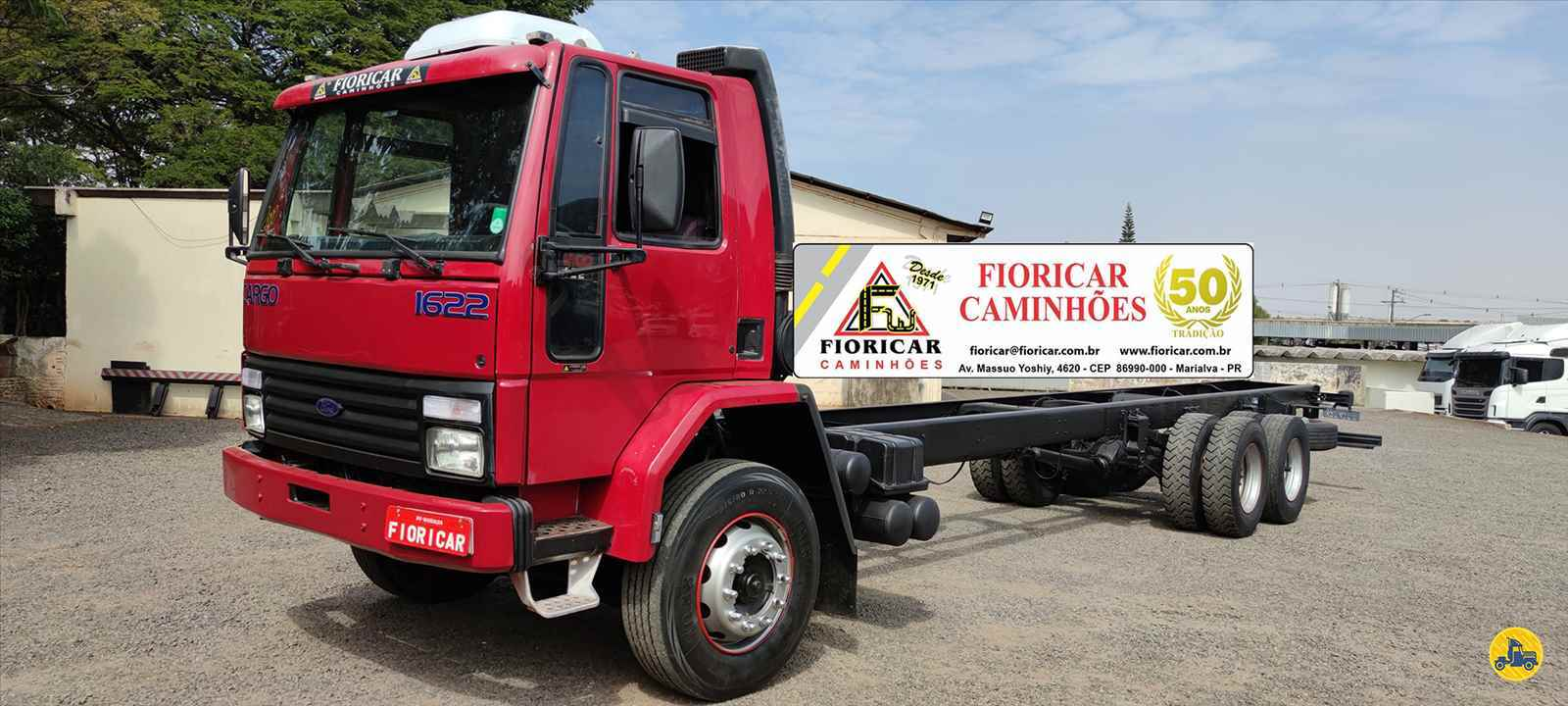 CAMINHAO FORD CARGO 1622 Chassis Truck 6x2 Fioricar Caminhões MARIALVA PARANÁ PR