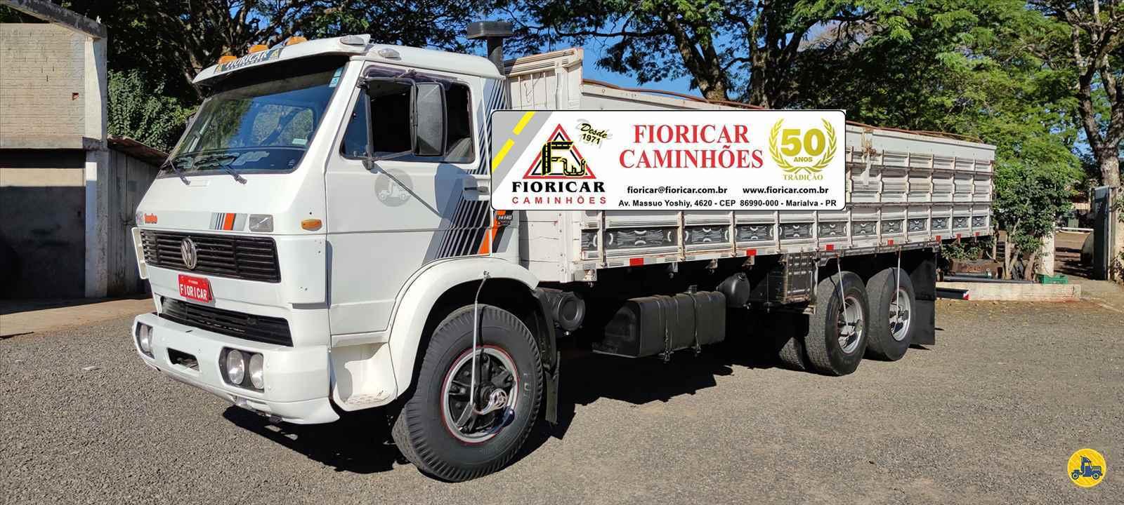 CAMINHAO VOLKSWAGEN VW 14140 Graneleiro Truck 6x2 Fioricar Caminhões MARIALVA PARANÁ PR