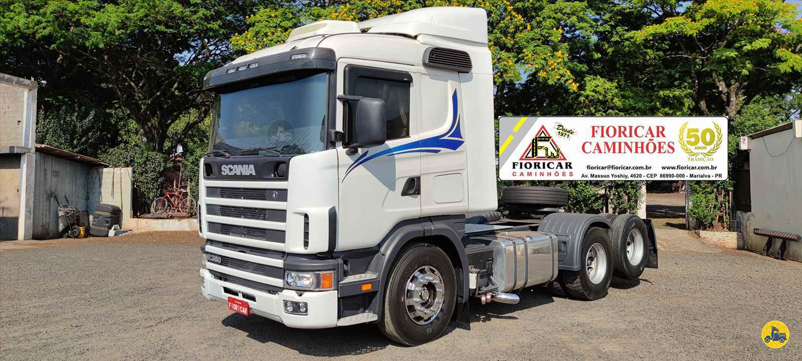 SCANIA 114 380 de Fioricar Caminhões - MARIALVA/PR