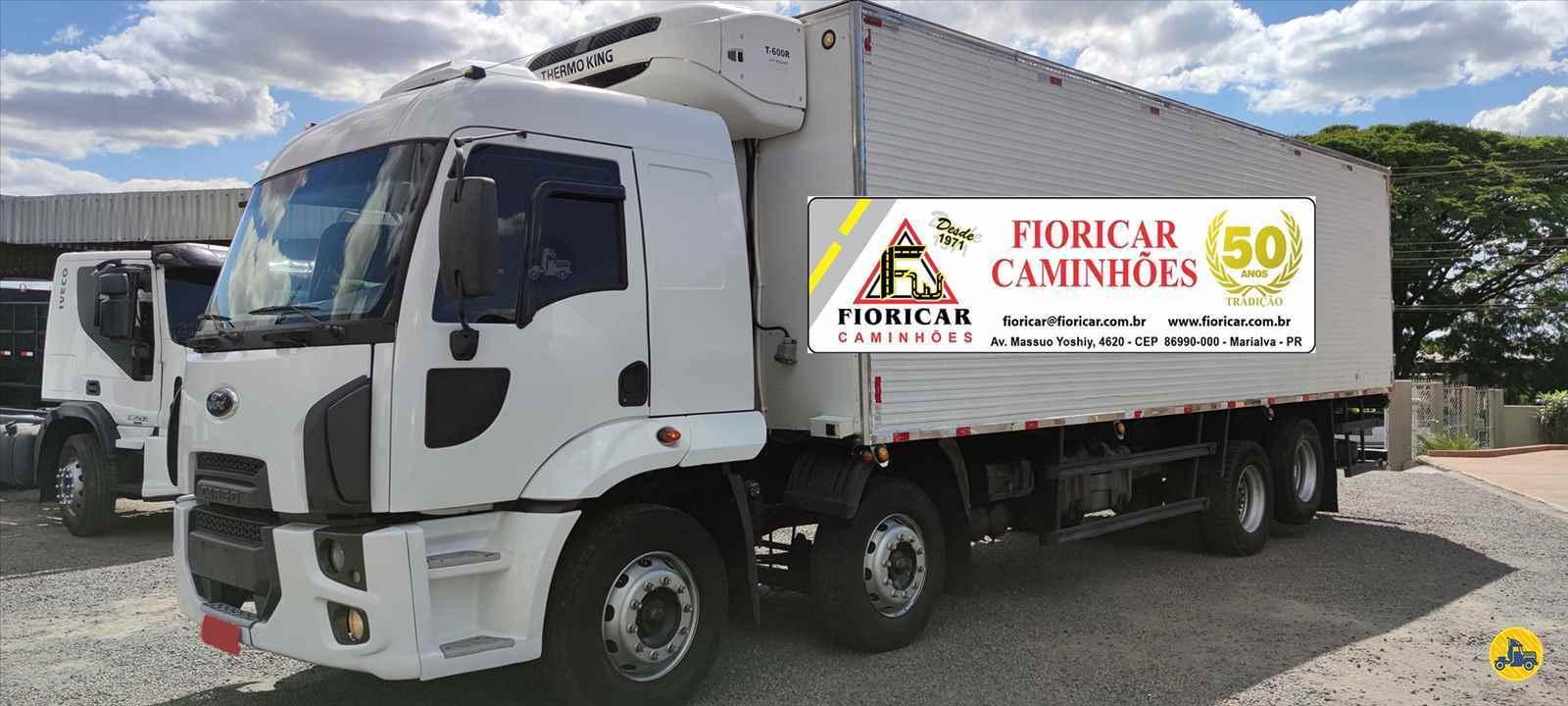 CAMINHAO FORD CARGO 2428 Baú Frigorífico BiTruck 8x2 Fioricar Caminhões MARIALVA PARANÁ PR