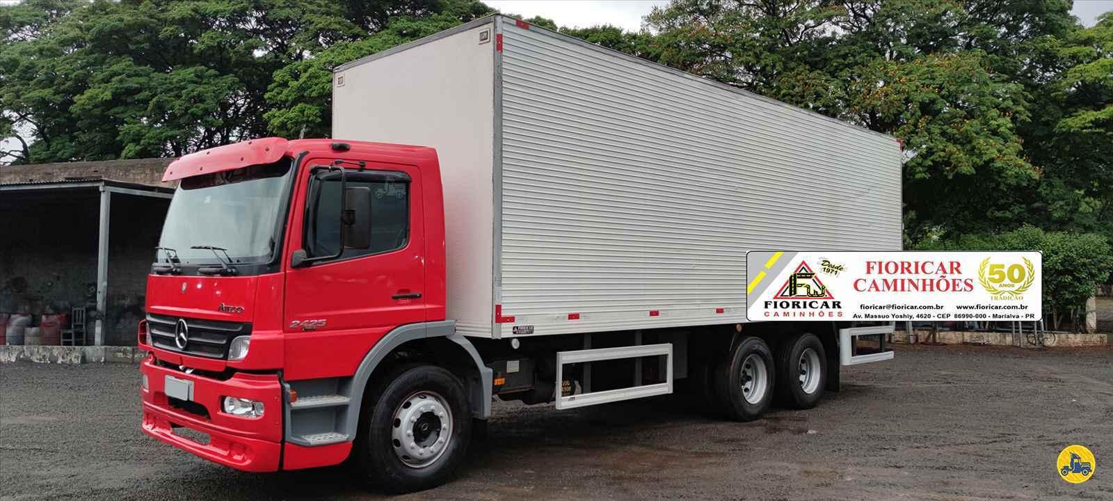 CAMINHAO MERCEDES-BENZ MB 2425 Baú Furgão Truck 6x2 Fioricar Caminhões MARIALVA PARANÁ PR