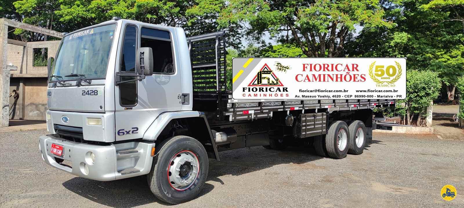 CAMINHAO FORD CARGO 2428 Carga Seca Truck 6x2 Fioricar Caminhões MARIALVA PARANÁ PR