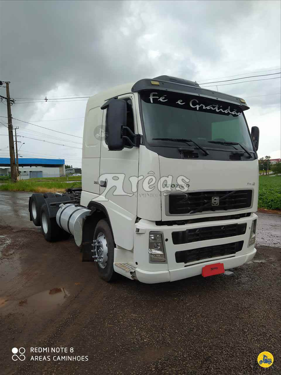 CAMINHAO VOLVO VOLVO FH12 380 Cavalo Mecânico Truck 6x2 Arêas Caminhões MARINGA PARANÁ PR