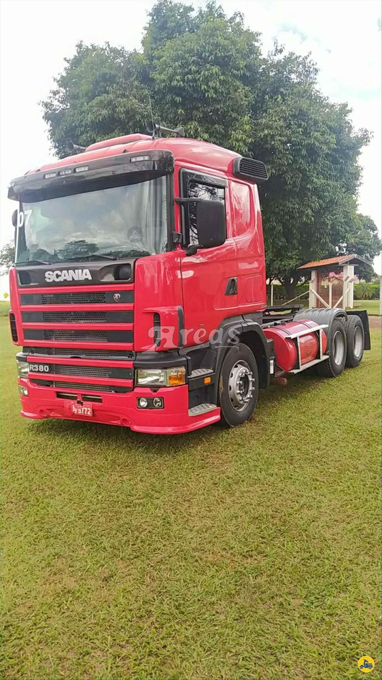 CAMINHAO SCANIA SCANIA 380 Cavalo Mecânico Truck 6x2 Arêas Caminhões MARINGA PARANÁ PR