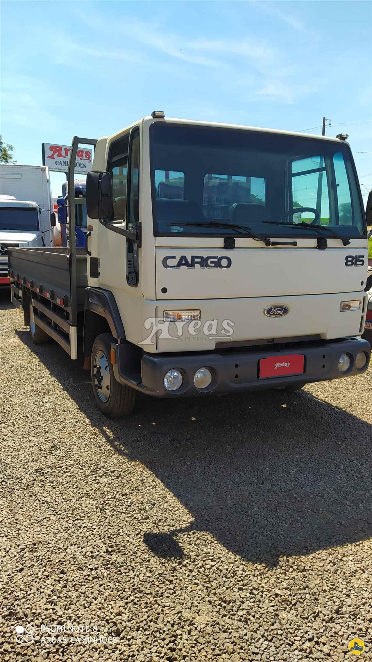 CARGO 815 de Arêas Caminhões - MARINGA/PR