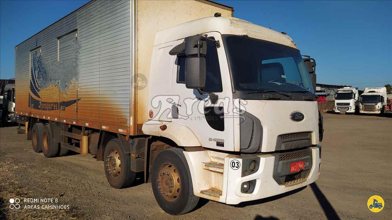 CAMINHAO FORD CARGO 2429 Baú Furgão Truck 6x2 Arêas Caminhões MARINGA PARANÁ PR