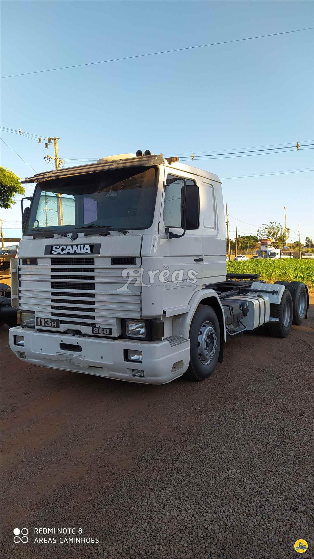 CAMINHAO SCANIA SCANIA 113 360 Cavalo Mecânico Truck 6x2 Arêas Caminhões MARINGA PARANÁ PR