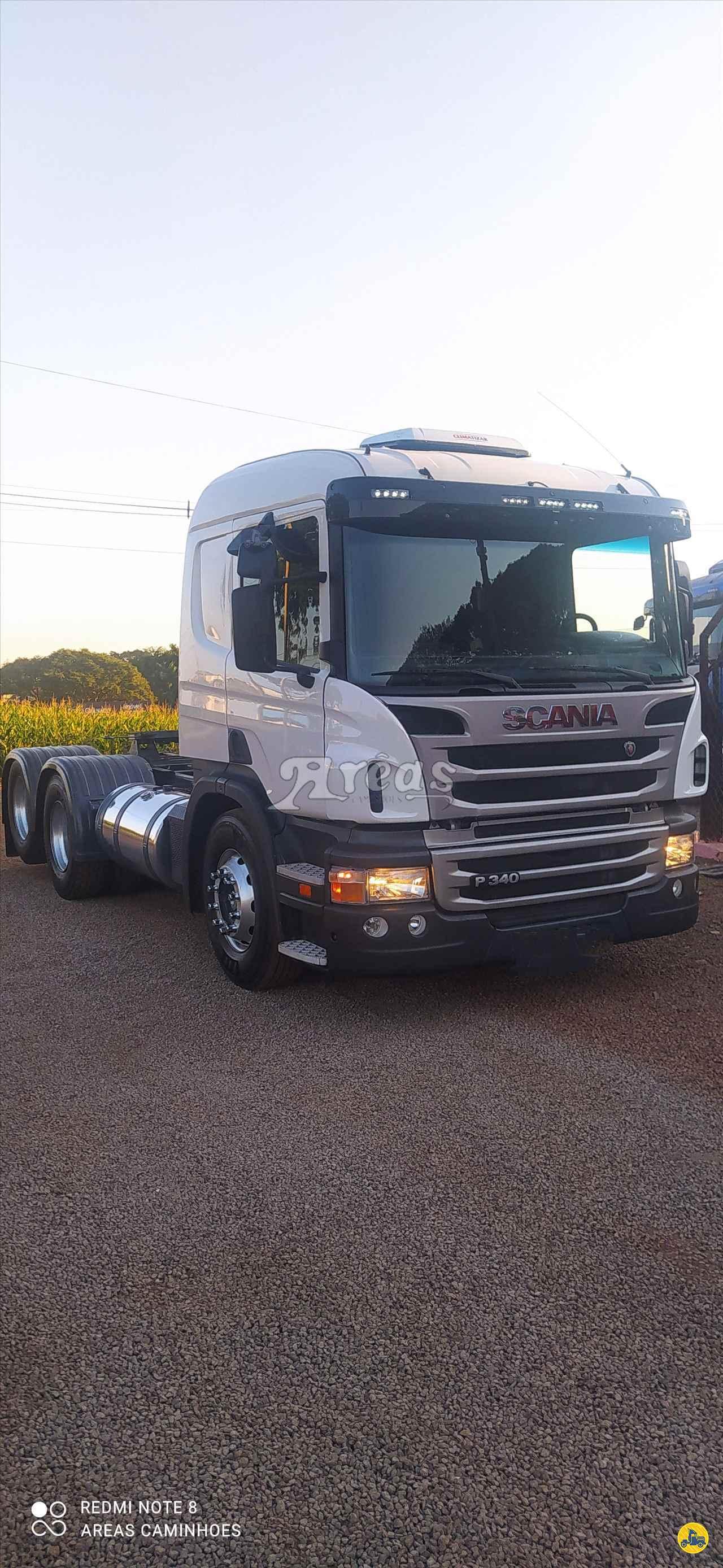 CAMINHAO SCANIA SCANIA P340 Cavalo Mecânico Truck 6x2 Arêas Caminhões MARINGA PARANÁ PR