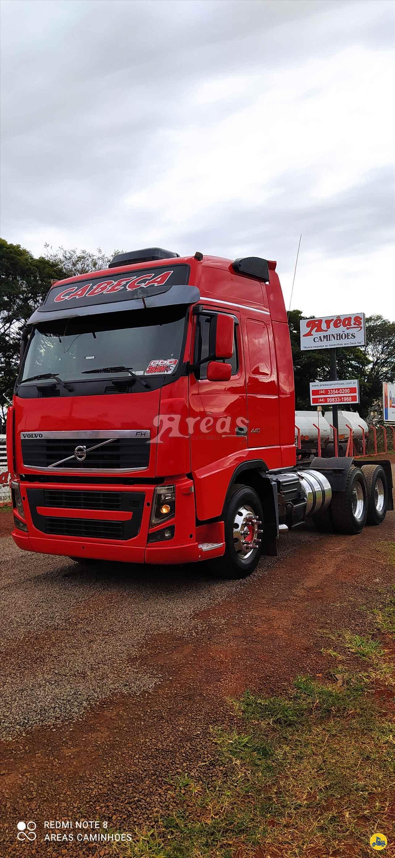 CAMINHAO VOLVO VOLVO FH 440 Cavalo Mecânico Truck 6x2 Arêas Caminhões MARINGA PARANÁ PR