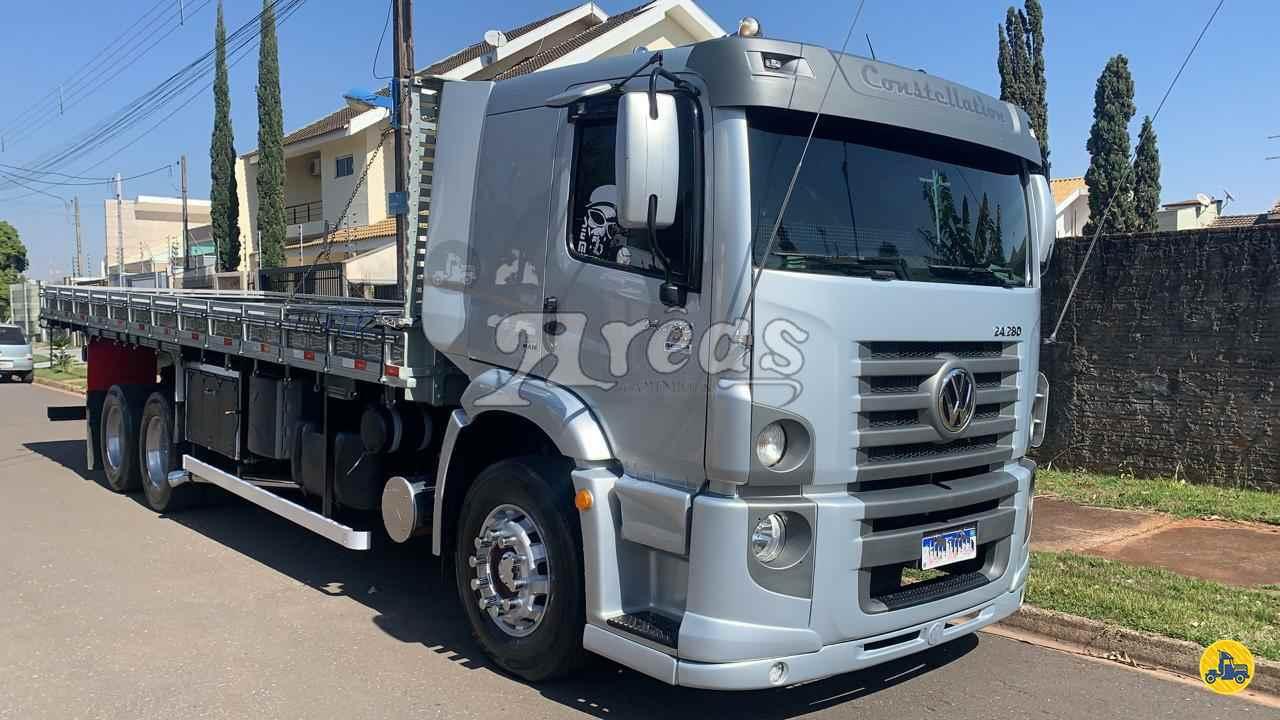 CAMINHAO VOLKSWAGEN VW 24280 Carga Seca Truck 6x2 Arêas Caminhões MARINGA PARANÁ PR