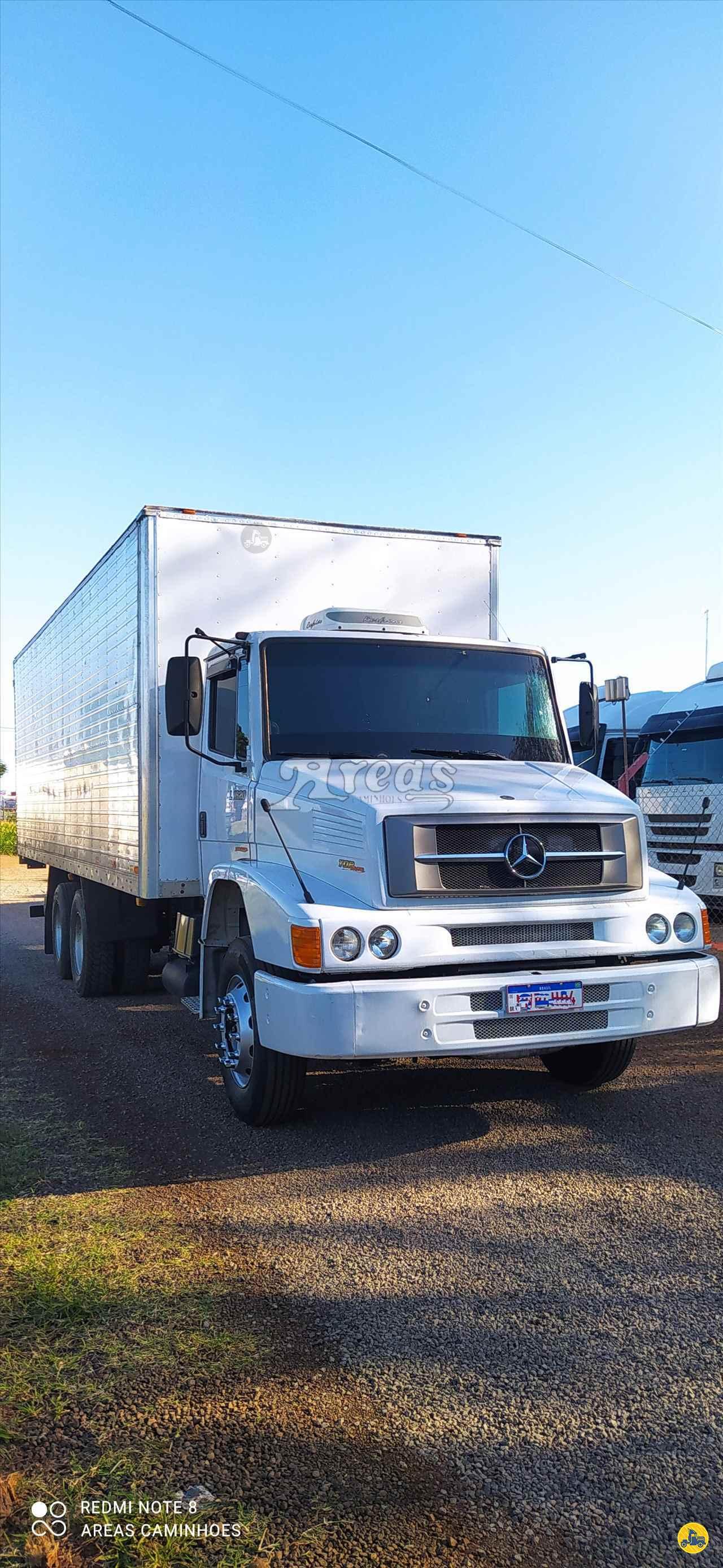 CAMINHAO MERCEDES-BENZ MB 1620 Baú Furgão Truck 6x2 Arêas Caminhões MARINGA PARANÁ PR