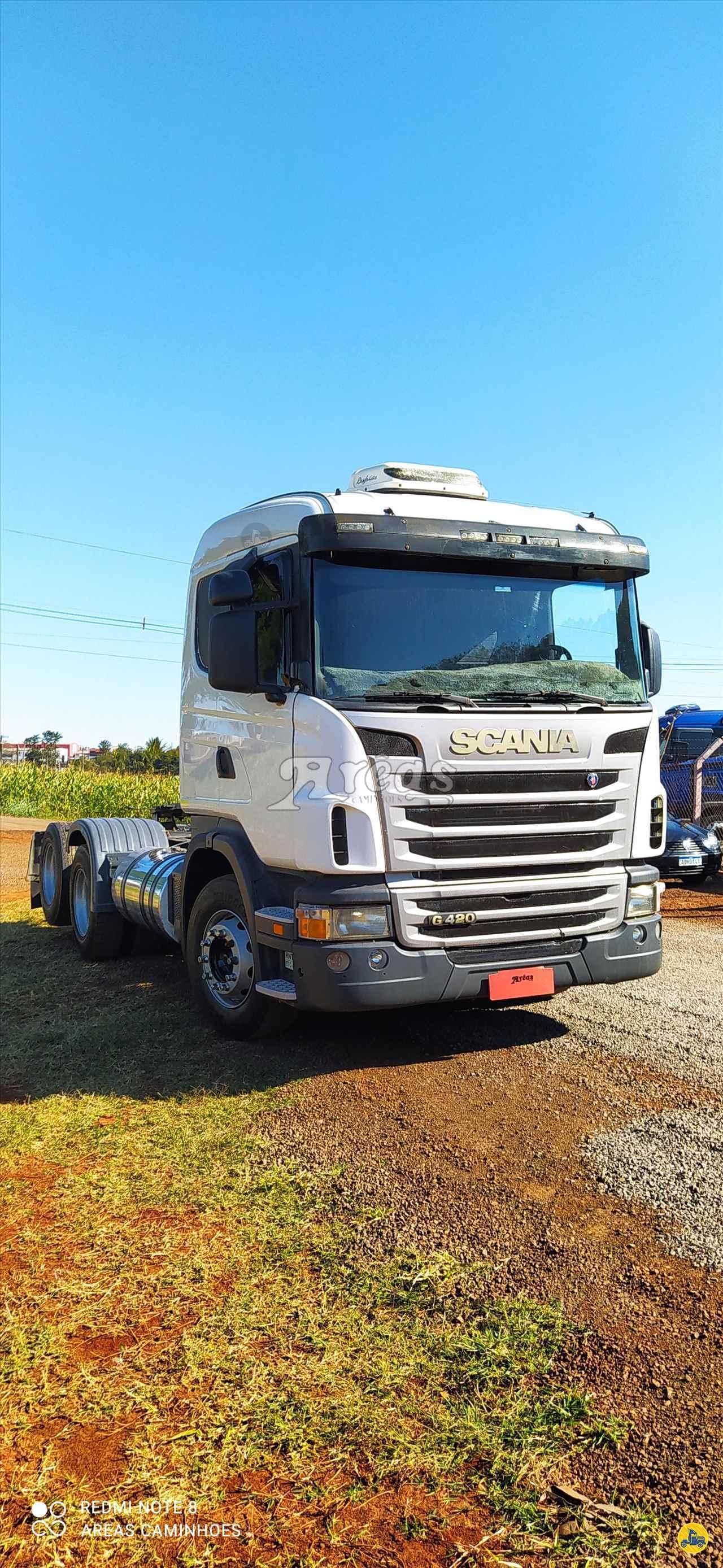 CAMINHAO SCANIA SCANIA 124 420 Cavalo Mecânico Truck 6x2 Arêas Caminhões MARINGA PARANÁ PR