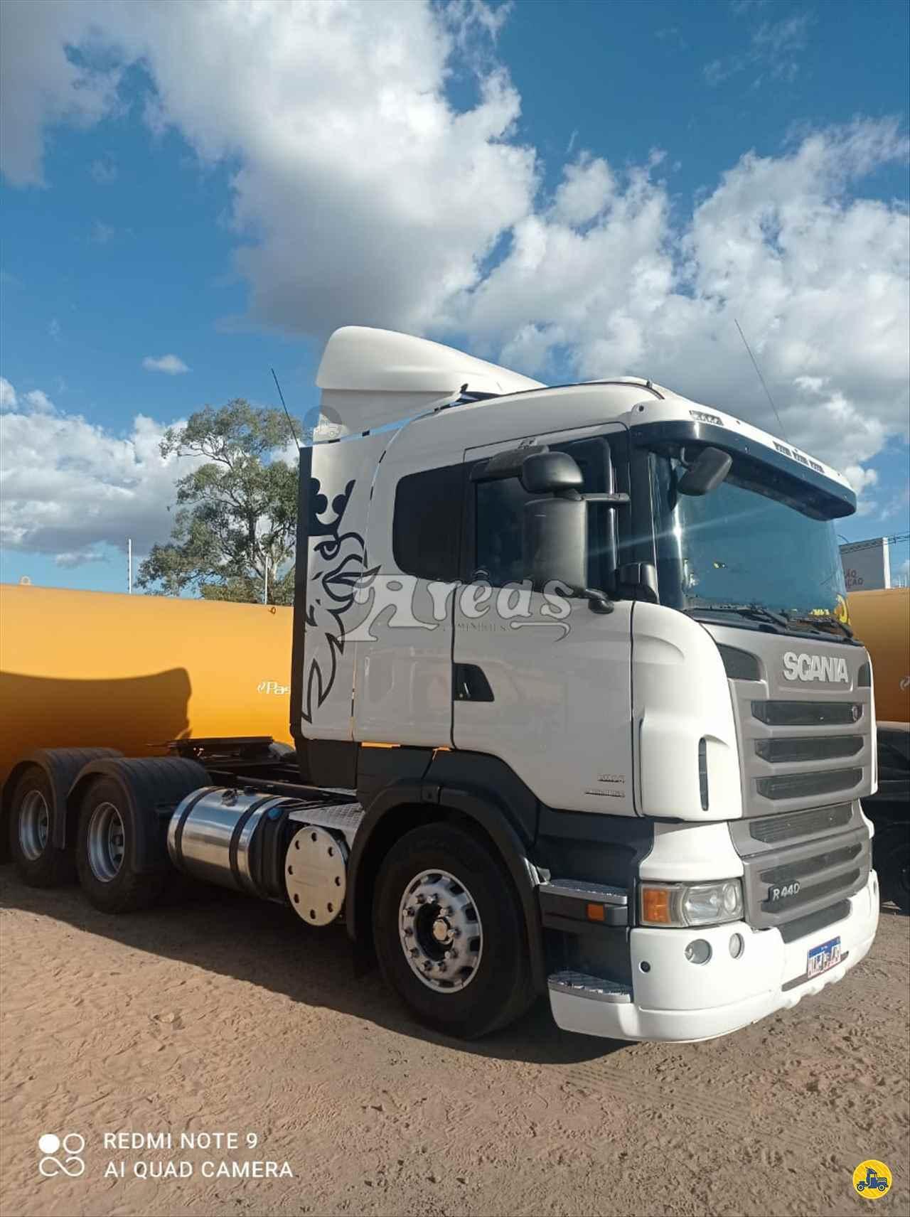 CAMINHAO SCANIA SCANIA 440 Cavalo Mecânico Truck 6x2 Arêas Caminhões MARINGA PARANÁ PR