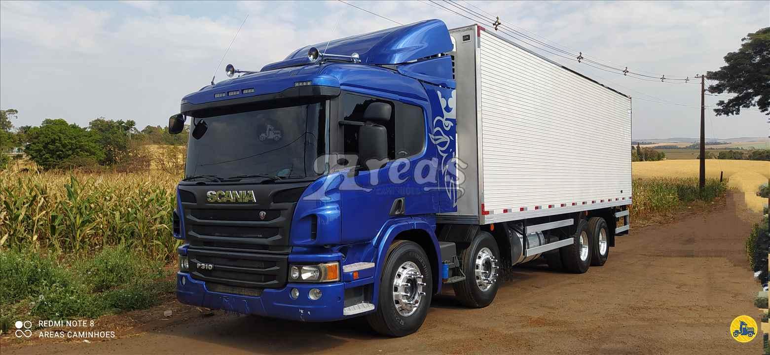 CAMINHAO SCANIA SCANIA P310 Baú Frigorífico BiTruck 8x2 Arêas Caminhões MARINGA PARANÁ PR