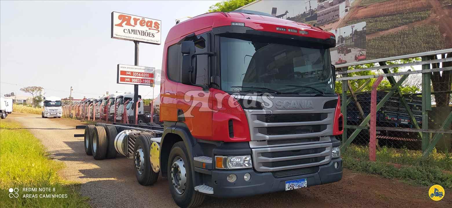 CAMINHAO SCANIA SCANIA P310 Chassis BiTruck 8x2 Arêas Caminhões MARINGA PARANÁ PR