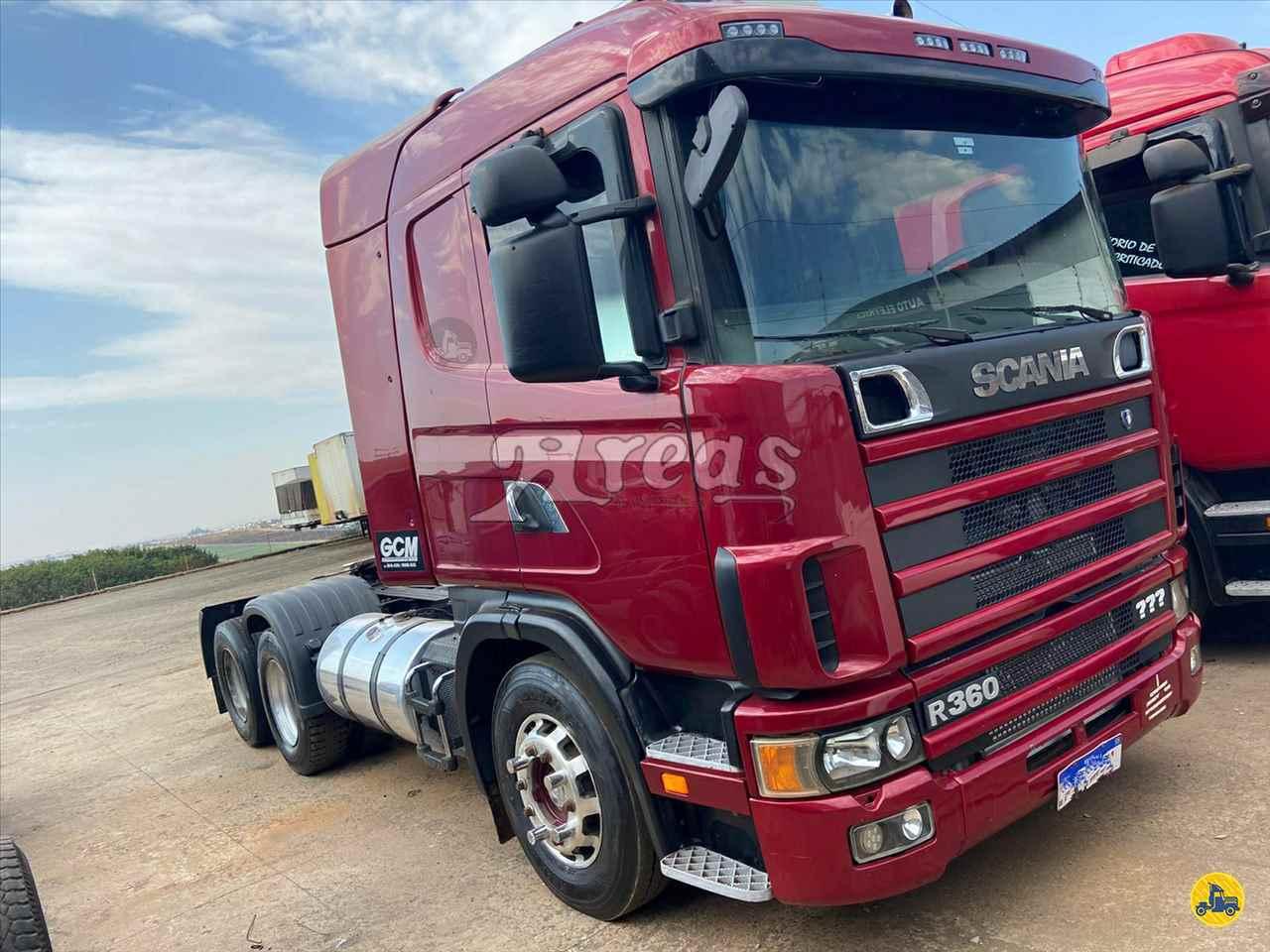 CAMINHAO SCANIA SCANIA 124 360 Cavalo Mecânico Truck 6x2 Arêas Caminhões MARINGA PARANÁ PR