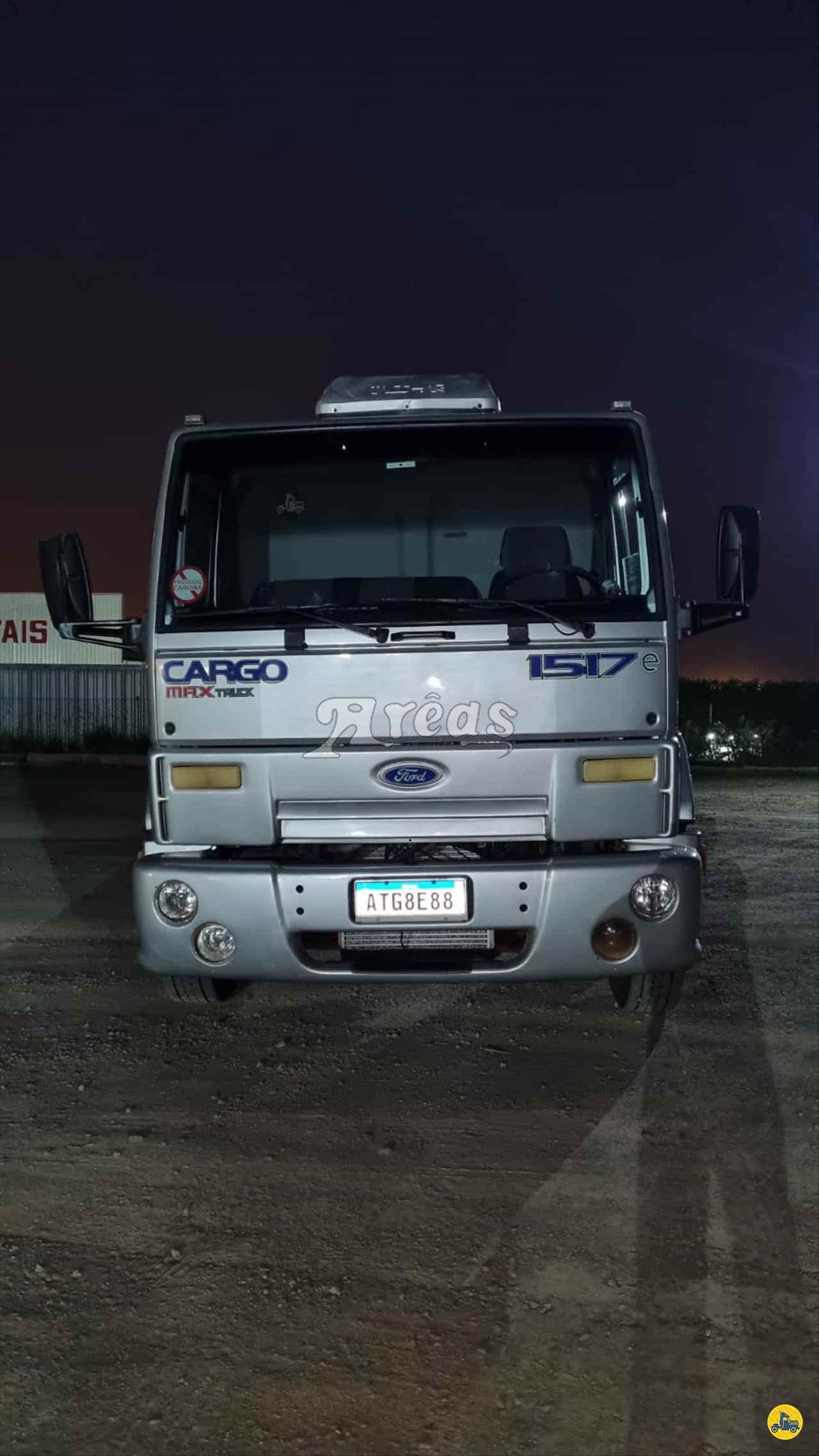 CAMINHAO FORD CARGO 1517 Chassis Truck 6x2 Arêas Caminhões MARINGA PARANÁ PR