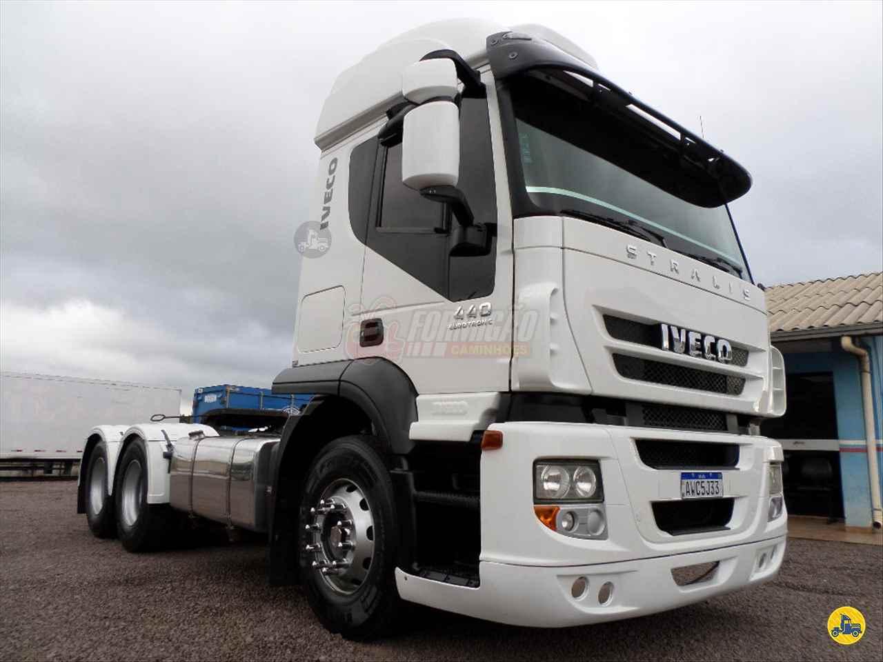 CAMINHAO IVECO STRALIS 440 Cavalo Mecânico Truck 6x2 Formigão Caminhões CASCAVEL PARANÁ PR