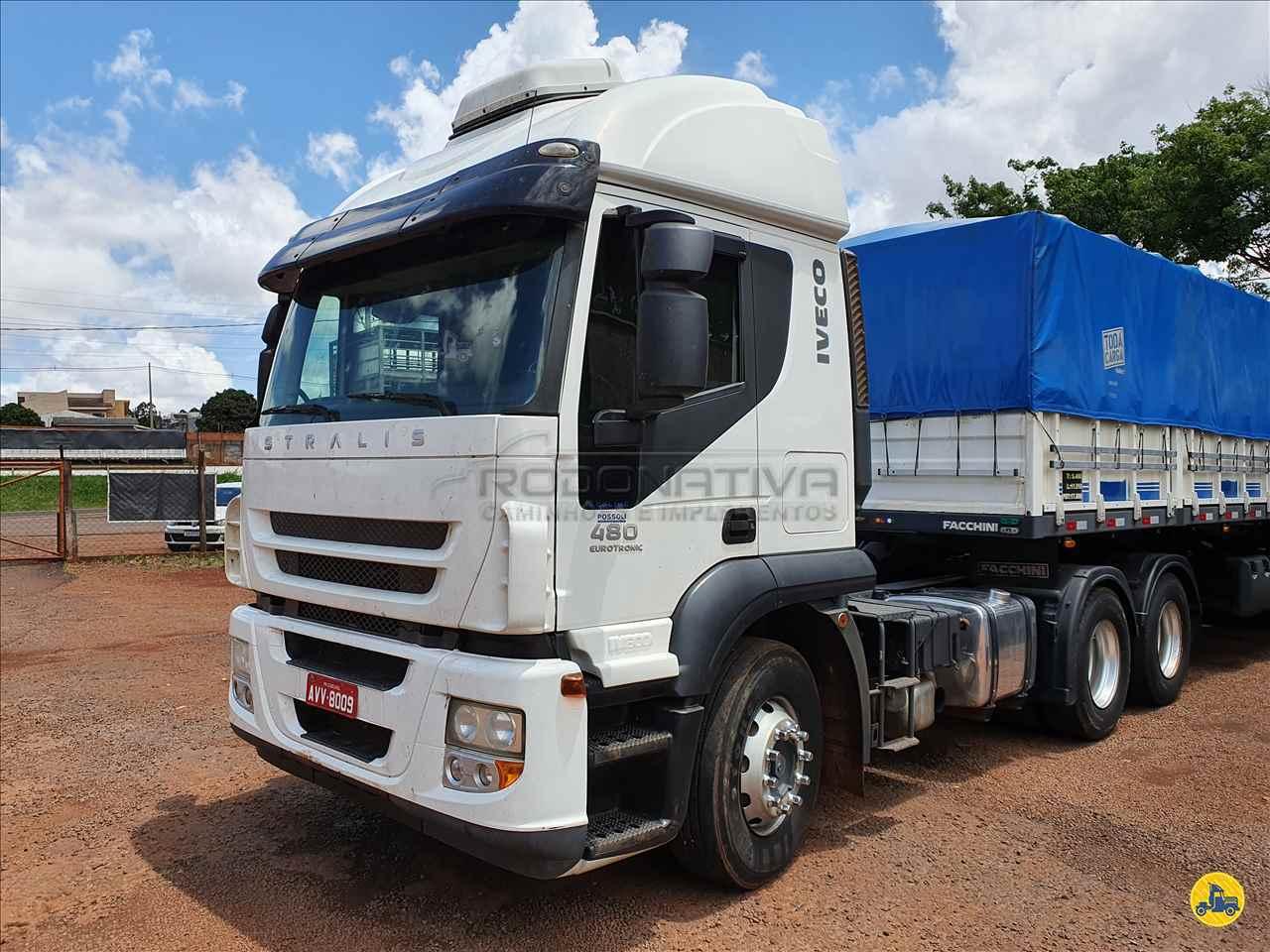 CAMINHAO IVECO STRALIS 480 Cavalo Mecânico Traçado 6x4 Rodonativa Caminhões e Implementos CASCAVEL PARANÁ PR