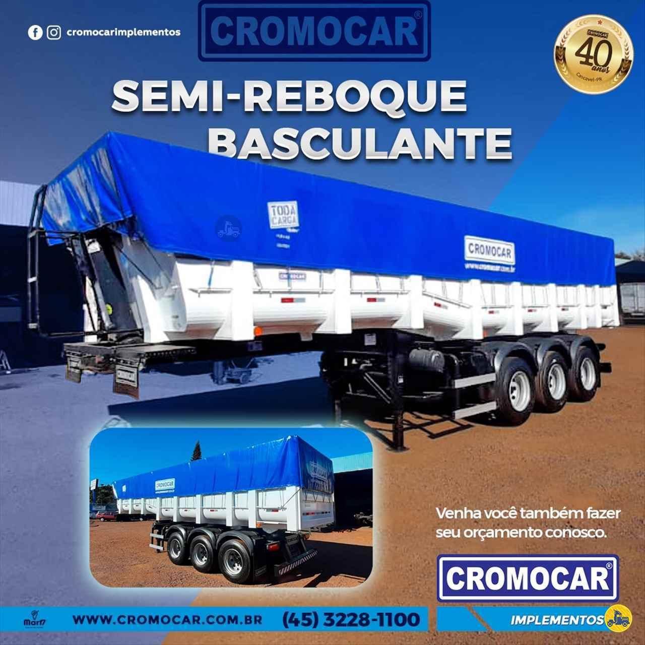 CARRETA SEMI-REBOQUE BASCULANTE Cromocar Implementos Rodoviários CASCAVEL PARANÁ PR