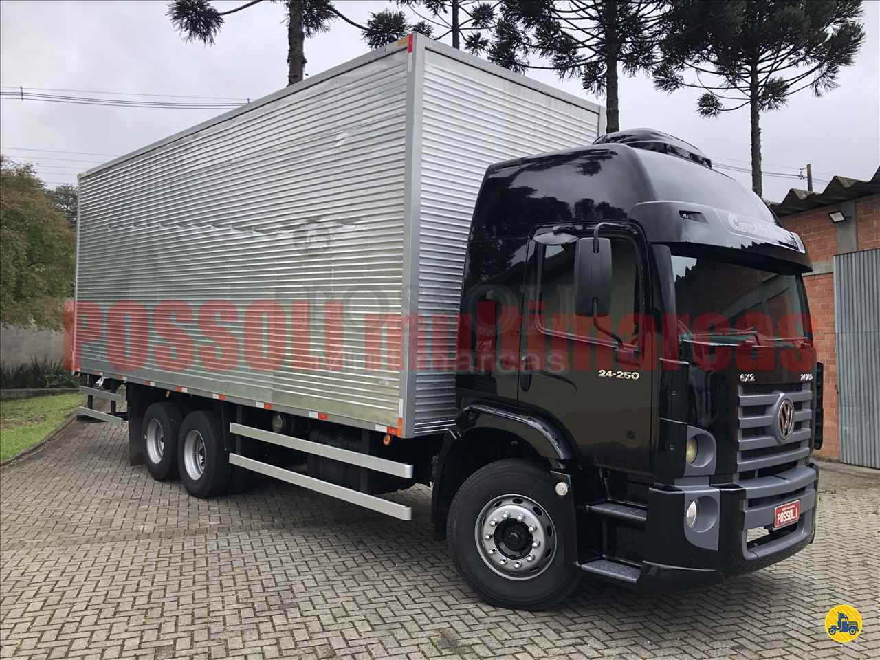 CAMINHAO VOLKSWAGEN VW 24250 Baú Furgão Truck 6x2 Possoli Multimarcas CURITIBA PARANÁ PR