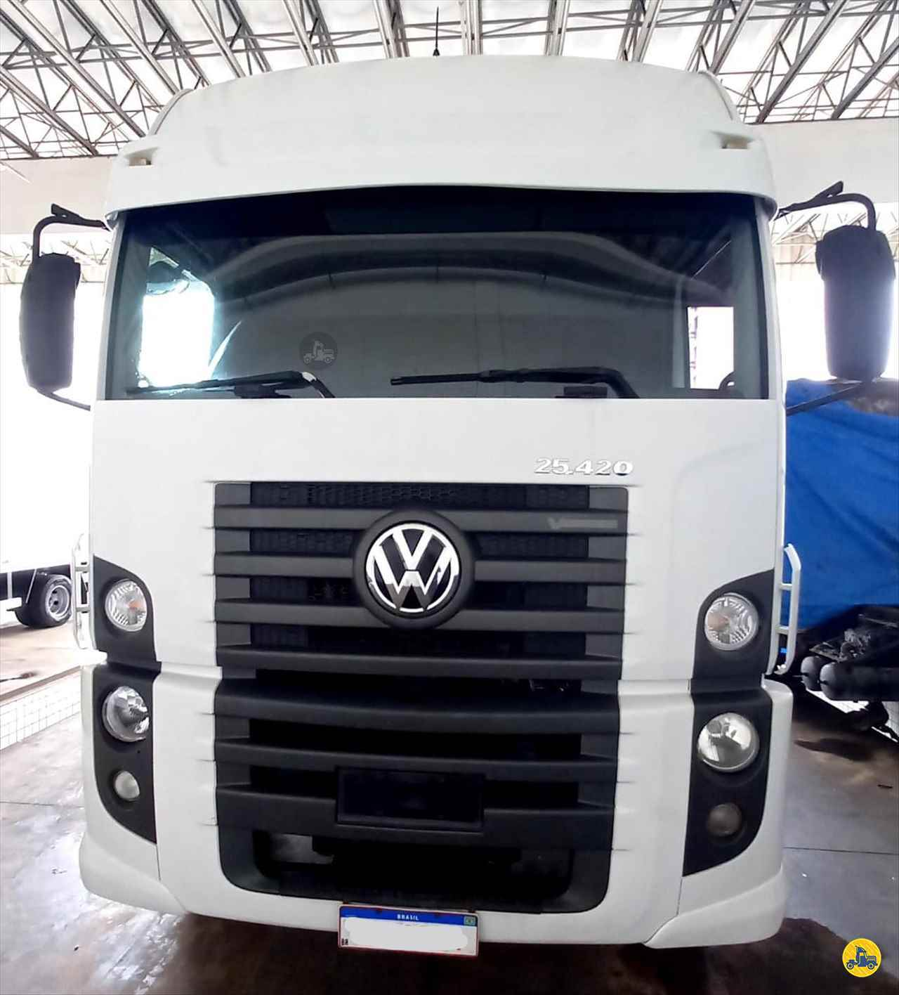 CAMINHAO VOLKSWAGEN VW 25420 Chassis Truck 6x2 Monaco Diesel - VW ANANINDEUA PARÁ PA