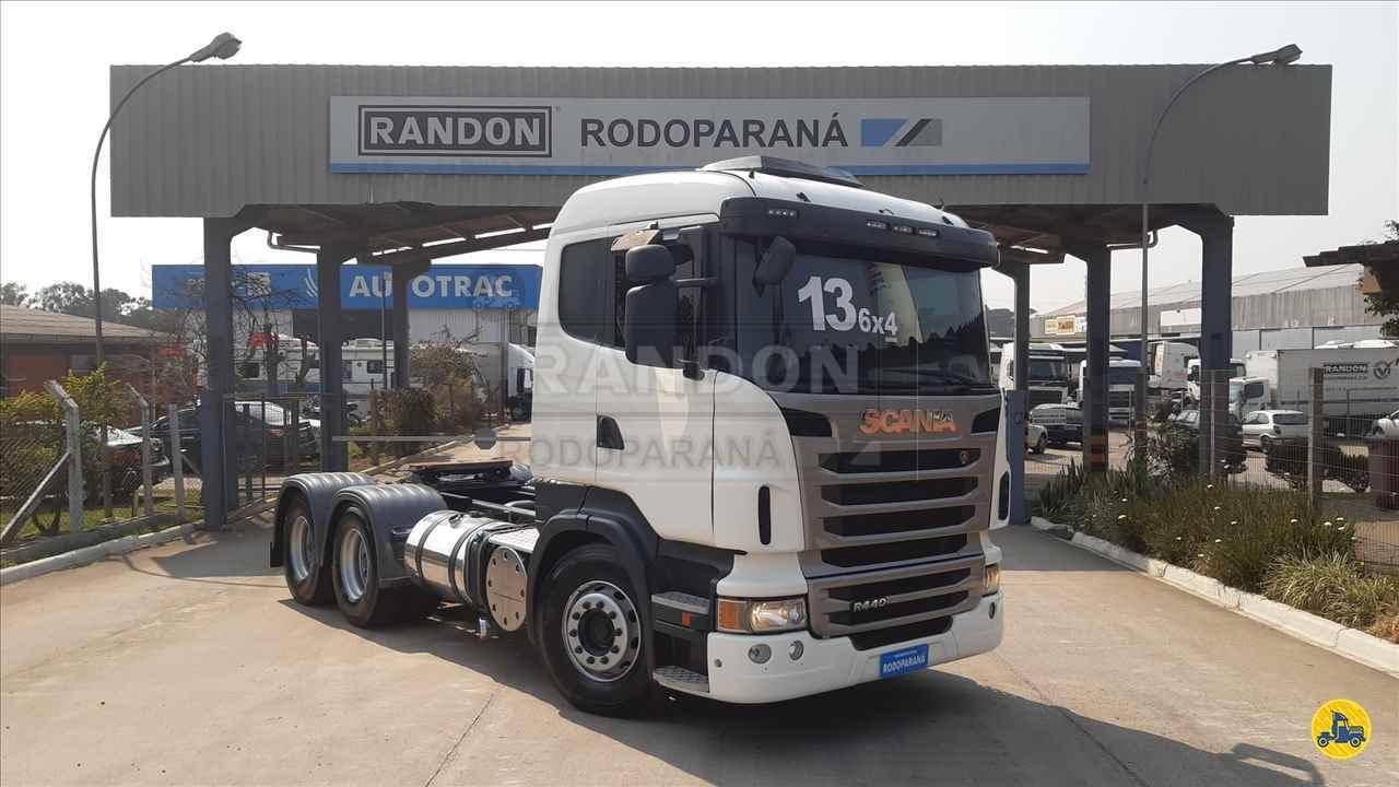 CAMINHAO SCANIA SCANIA 440 Cavalo Mecânico Traçado 6x4 Rodoparana - RANDON Curitiba CURITIBA PARANÁ PR