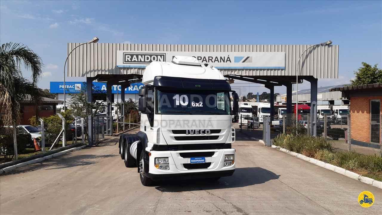 CAMINHAO IVECO STRALIS 570 Cavalo Mecânico Truck 6x2 Rodoparana - RANDON Curitiba CURITIBA PARANÁ PR