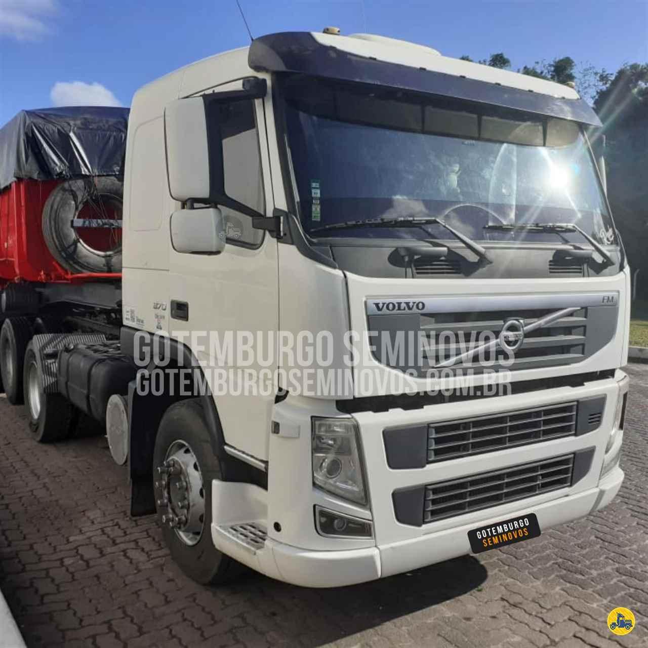 CAMINHAO VOLVO VOLVO FM 370 Cavalo Mecânico Truck 6x2 Gotemburgo - VOLVO no Nordeste SIMOES FILHO BAHIA BA