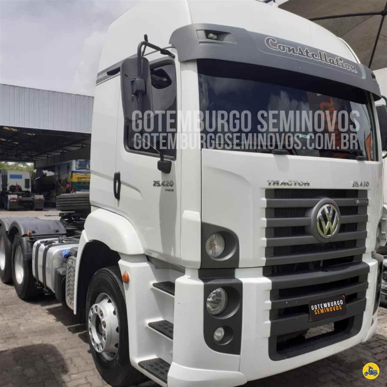 CAMINHAO VOLKSWAGEN VW 25420 Cavalo Mecânico Truck 6x2 GOTEMBURGO | SEMINOVOS SIMOES FILHO BAHIA BA