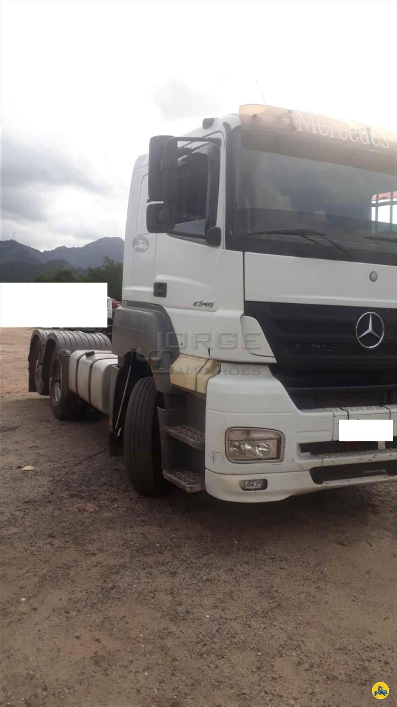 CAMINHAO MERCEDES-BENZ MB 2540 Cavalo Mecânico Truck 6x2 Jorge Caminhões CURITIBA PARANÁ PR