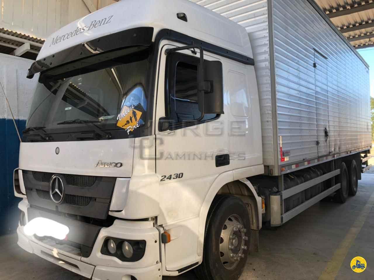 CAMINHAO MERCEDES-BENZ MB 2430 Chassis Truck 6x2 Jorge Caminhões CURITIBA PARANÁ PR