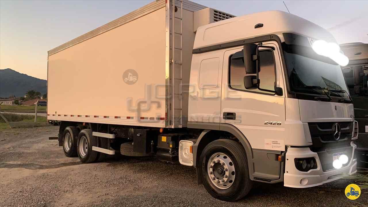 CAMINHAO MERCEDES-BENZ MB 2426 Baú Frigorífico Truck 6x2 Jorge Caminhões CURITIBA PARANÁ PR