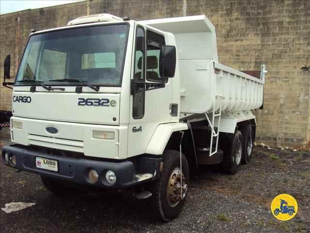 CAMINHAO FORD CARGO 2632 Caçamba Basculante Traçado 6x4 Lobo Caminhões AMERICANA SÃO PAULO SP