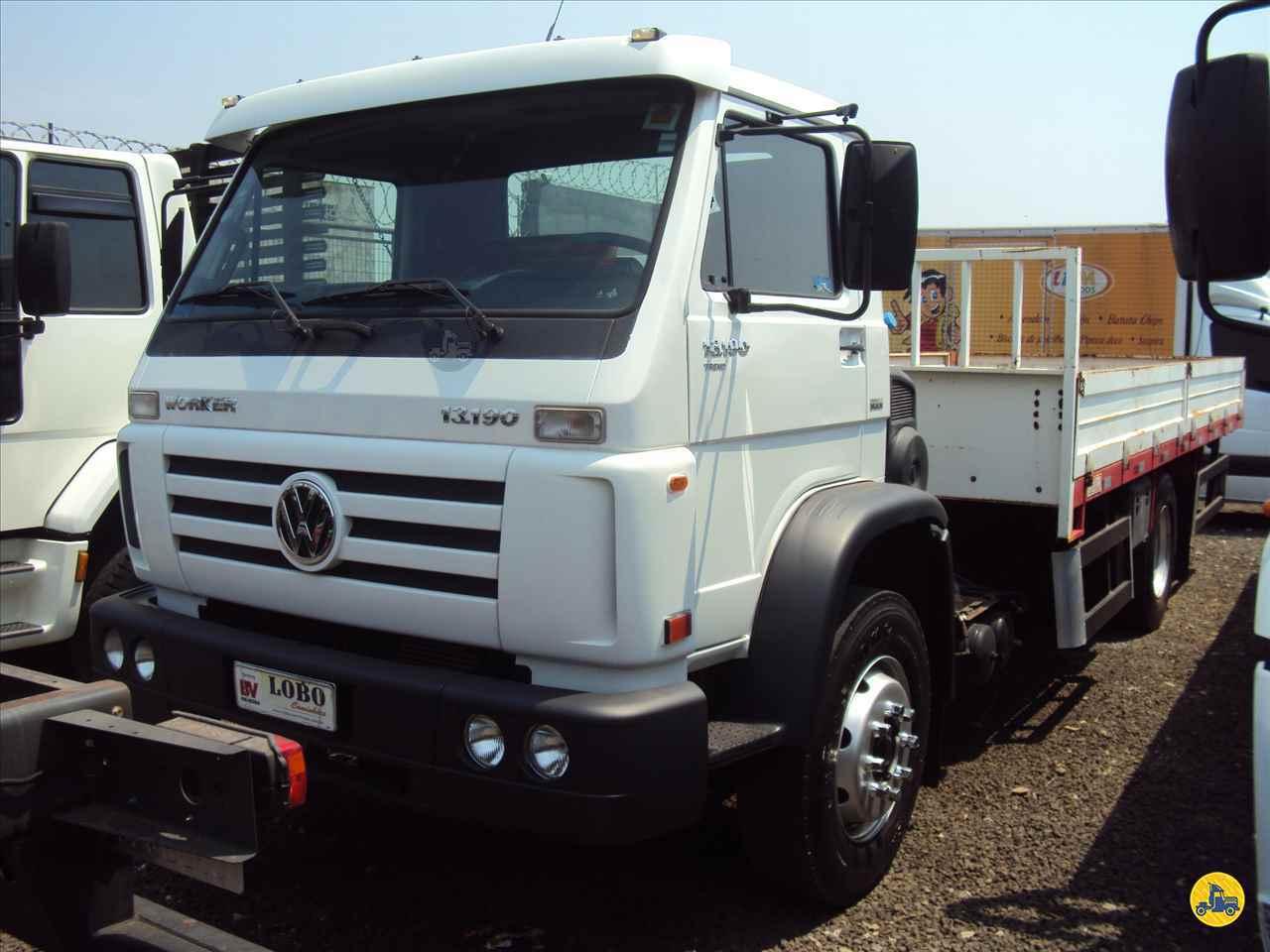 CAMINHAO VOLKSWAGEN VW 13190 Carga Seca Toco 4x2 Lobo Caminhões AMERICANA SÃO PAULO SP