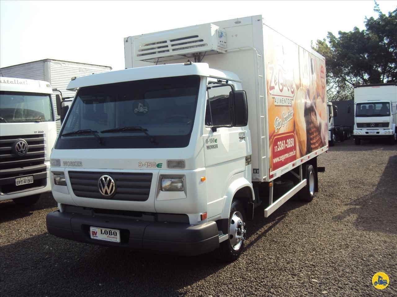 CAMINHAO VOLKSWAGEN VW 9150 Baú Frigorífico 3/4 4x2 Lobo Caminhões AMERICANA SÃO PAULO SP