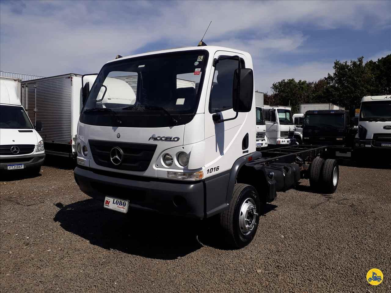CAMINHAO MERCEDES-BENZ MB 1016 Chassis 3/4 4x2 Lobo Caminhões AMERICANA SÃO PAULO SP